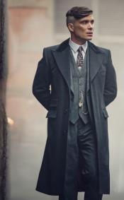 ThomasShelbyCostumeJacket+Pants+Vest+Overcoat