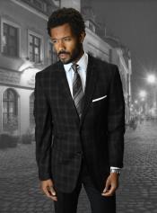 BlackWindowpaneBlazer-BlazerPlaidBlazer-WoolSportcoat