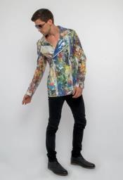 Floral Suit - Paisley Suit -
