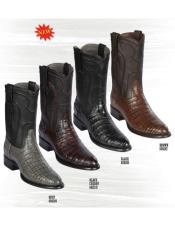 Los Altos Boots Caiman Belly Boots