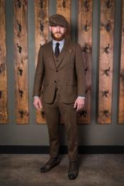 Mens Tweed Suit 1920 Suits -