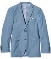 MensChambraySportcoat-ChambrayBlazer-SummerCottonBlazer