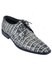 Mens Los Altos Caiman Belly Derby