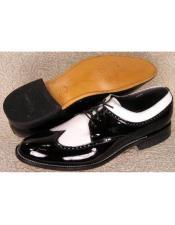 Mens Stacy Baldwin Spectator Shoes Black