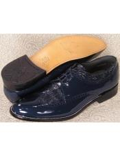 Mens Baldwin Wingtip Blucher Oxford Shoes