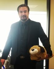 JohnWickHalloweenCostumeQualityBlackShirt+Suit+