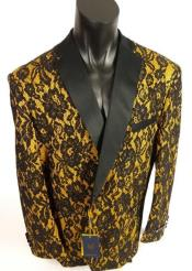 Black and Gold Tuxedo - Gold