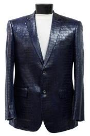Crocodile Blazer - Alligator Print Sportcoat