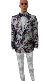 Paisley Blazer - Floral Blazer