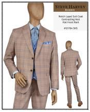 Steve Harvey Suits Tan