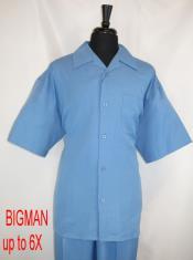 Style#FortinoLandiM2954Shirt+PantSetSkyBlue