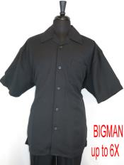 Style#FortinoLandiM2954Shirt+PantSetBlack