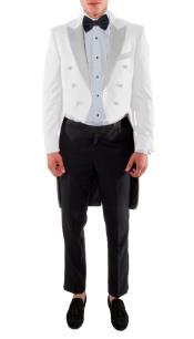 VICTORIAN TAILCOAT - Tuxedo Jacket With