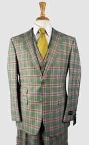 Plaid Suits - Peak Lapel 1920s