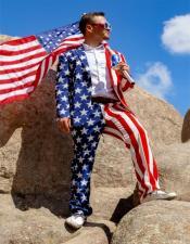 AmericanFlagSuitJacket