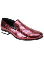 FashionDressShoe-MensFashionDressShoe-Burgundy