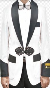 White Dinner Jacket - White Tuxedo