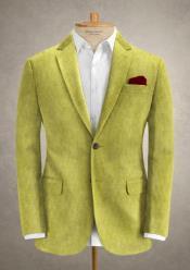 LimeGreenCorduroySuit-CottonSuit