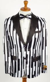1920 Blazer - Mens Black and