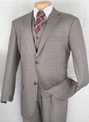 Grey~ Gray Vested Glen