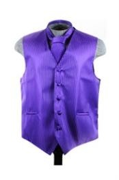 Tie Set Purple color