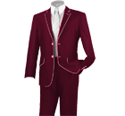 Burgandy Tuxedos